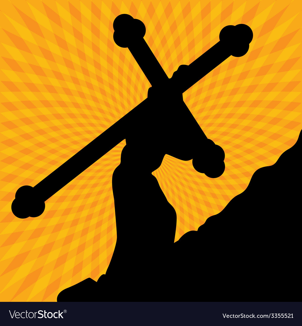 Cross of life vector | Price: 1 Credit (USD $1)