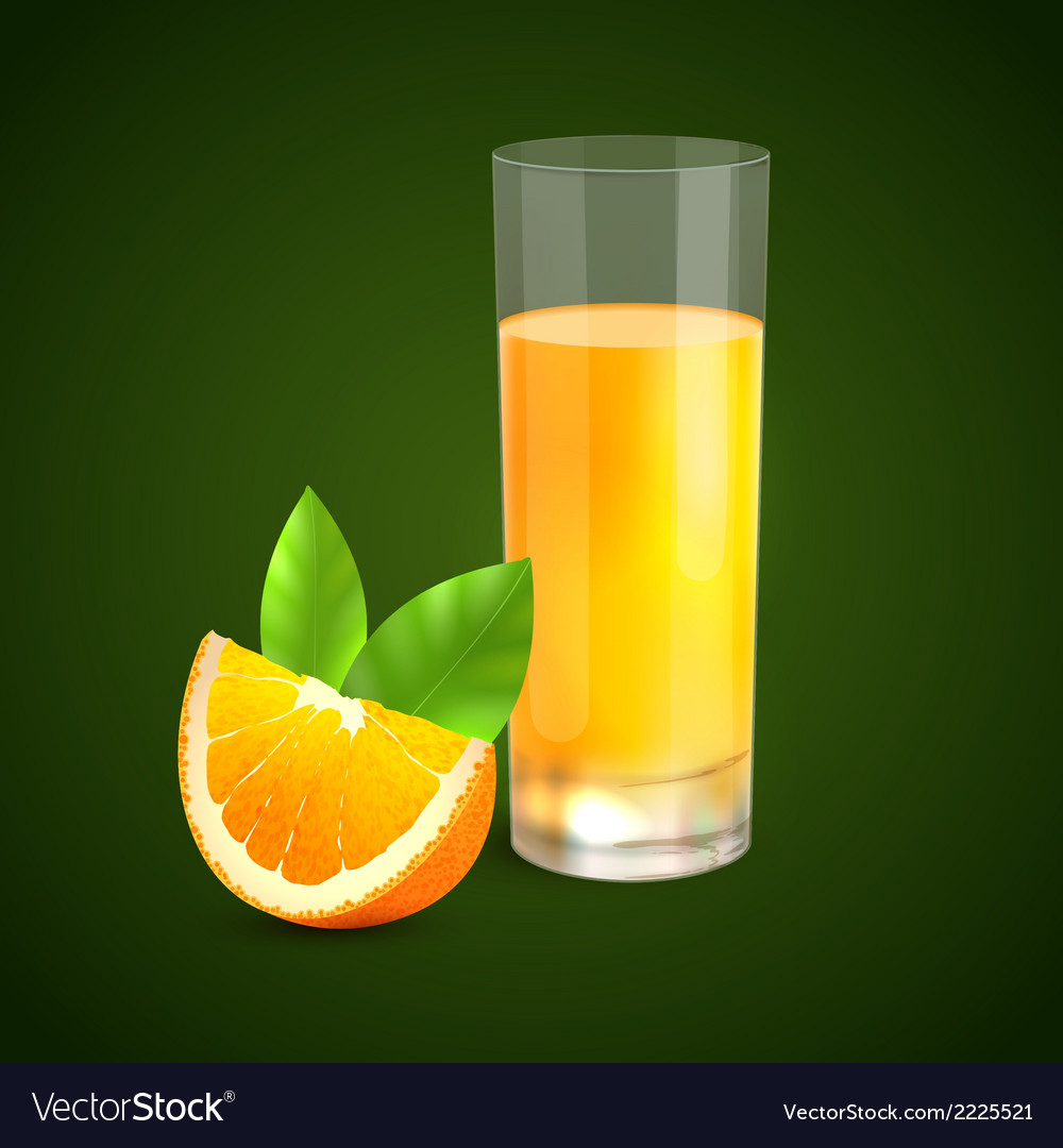 Orange juice background vector   Price: 1 Credit (USD $1)