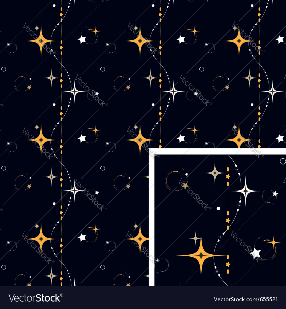 Seamless pattern star background vector | Price: 1 Credit (USD $1)