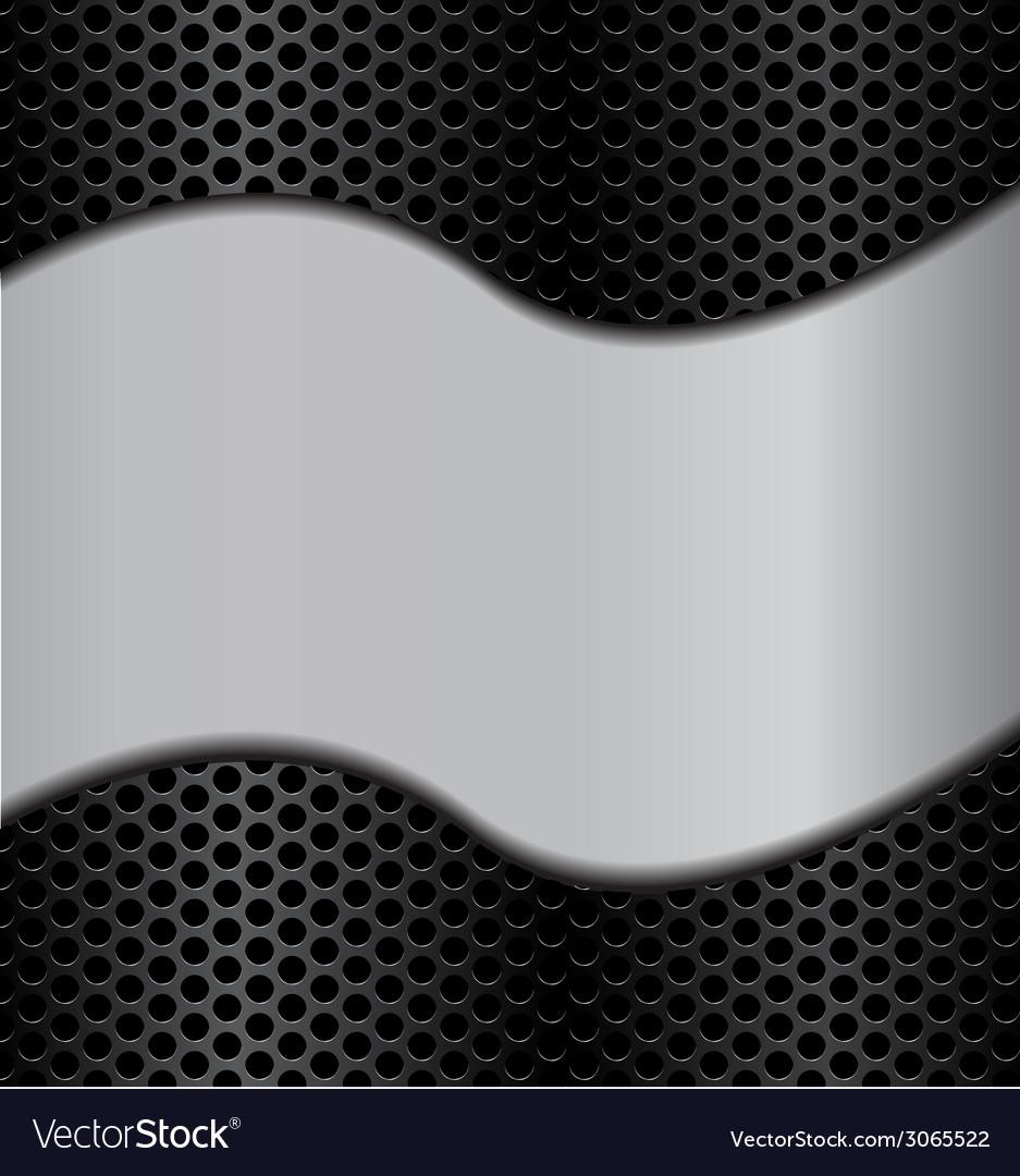 Wave metal texture vector | Price: 1 Credit (USD $1)