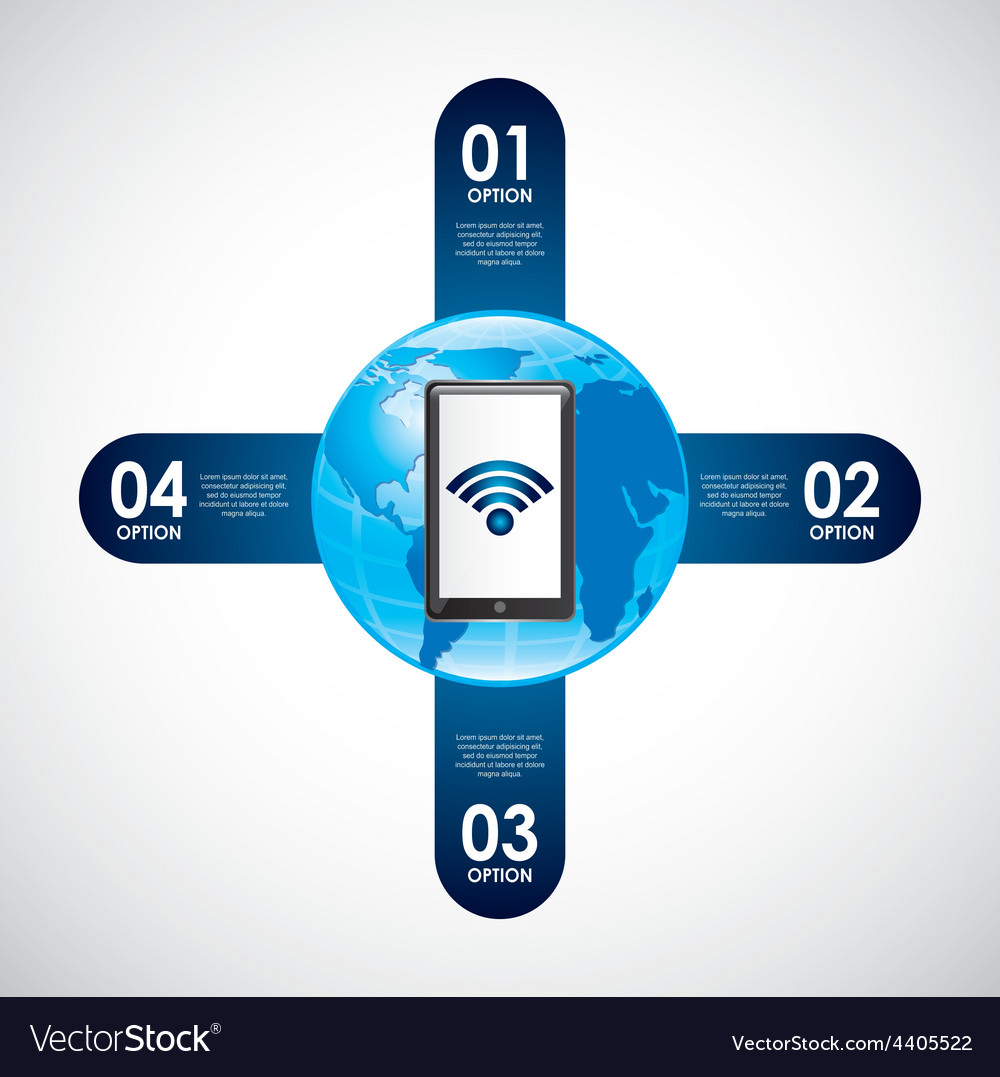 Wifi connection vector   Price: 1 Credit (USD $1)