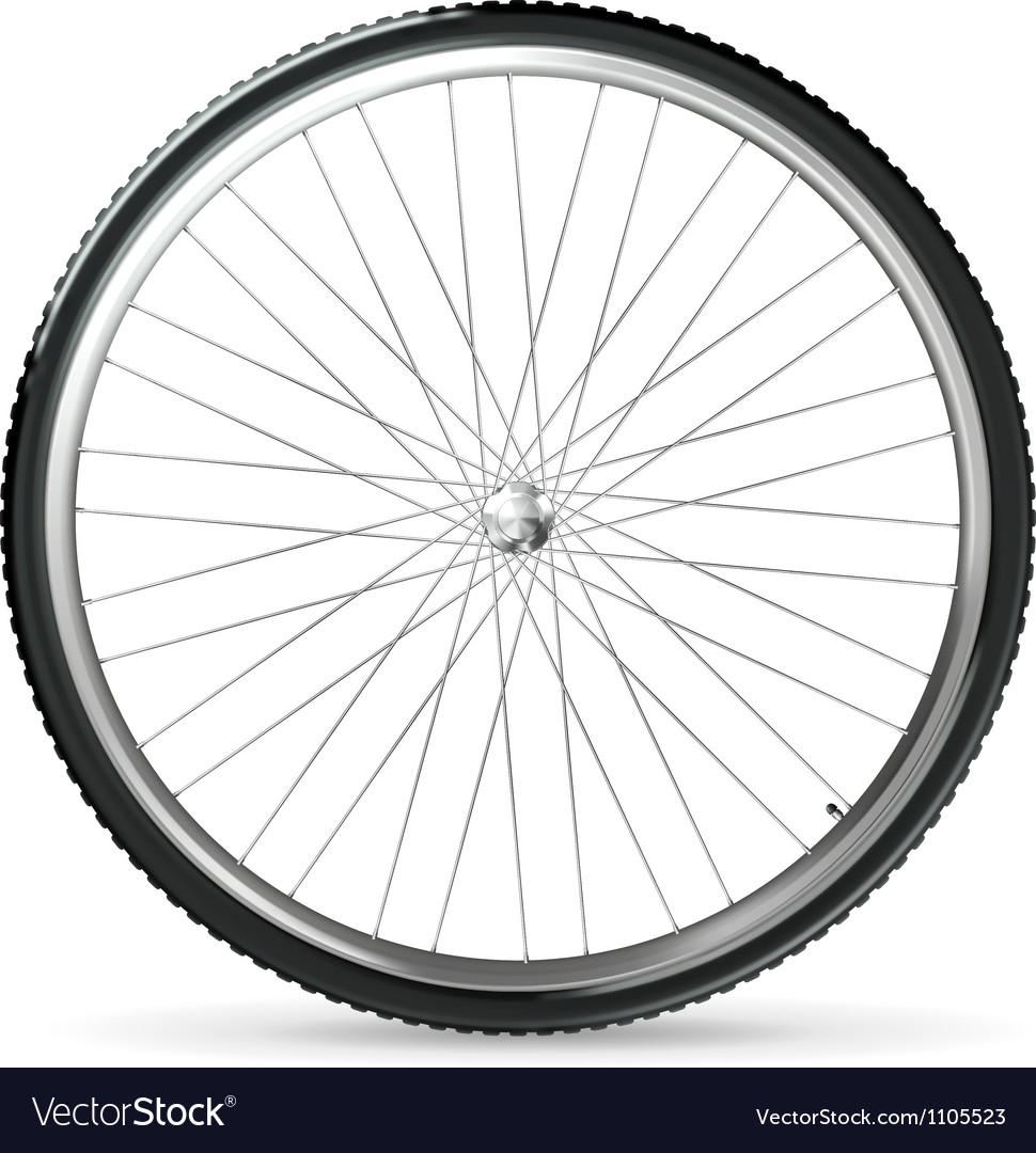 Bicycle wheel vector | Price: 1 Credit (USD $1)