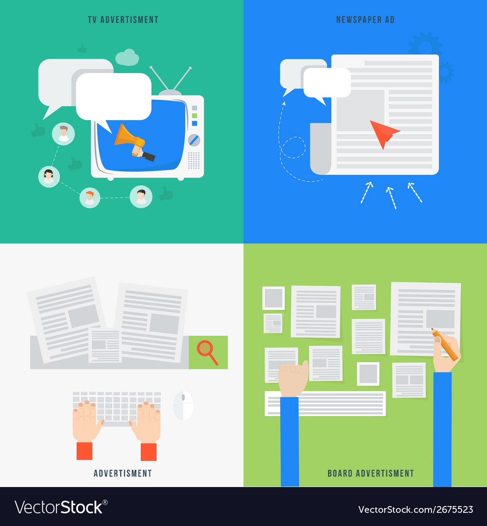 Element of advertisment concept icon in flat vector | Price: 1 Credit (USD $1)