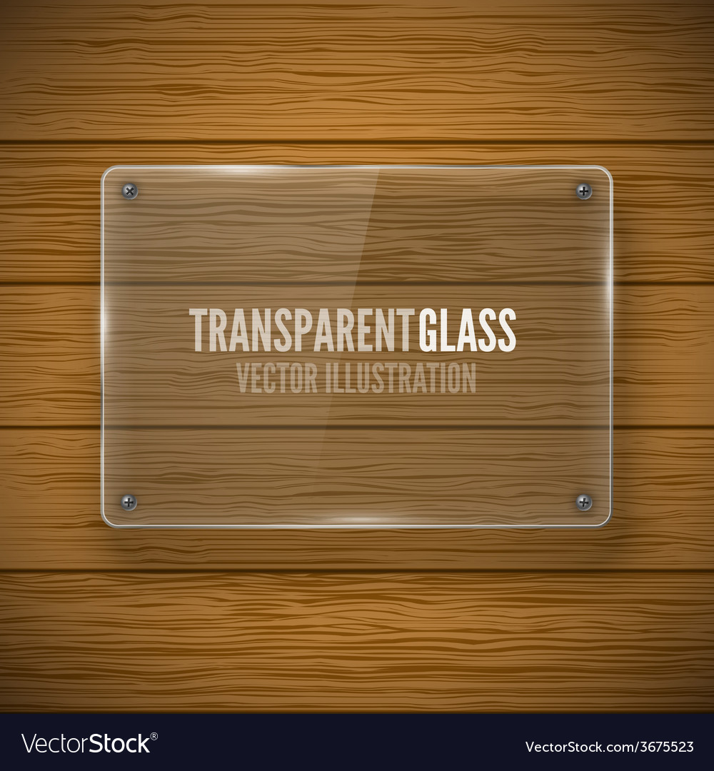 Glass framework and wood texture vector   Price: 1 Credit (USD $1)