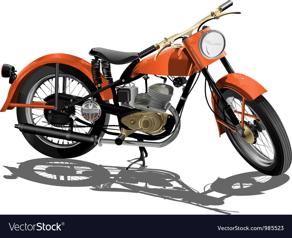 Motor bike vector | Price: 5 Credit (USD $5)