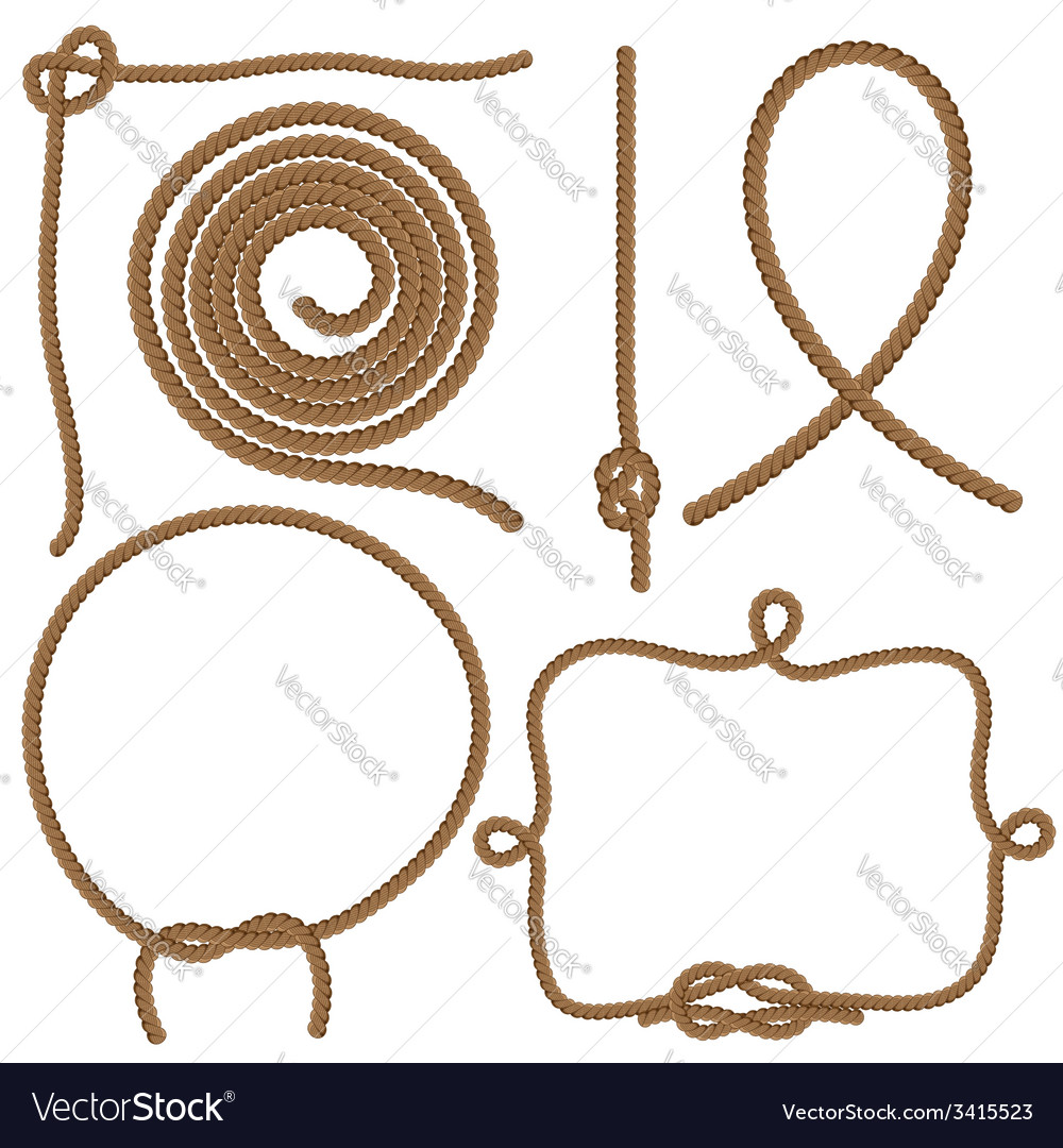 Ropes and knots vector | Price: 1 Credit (USD $1)