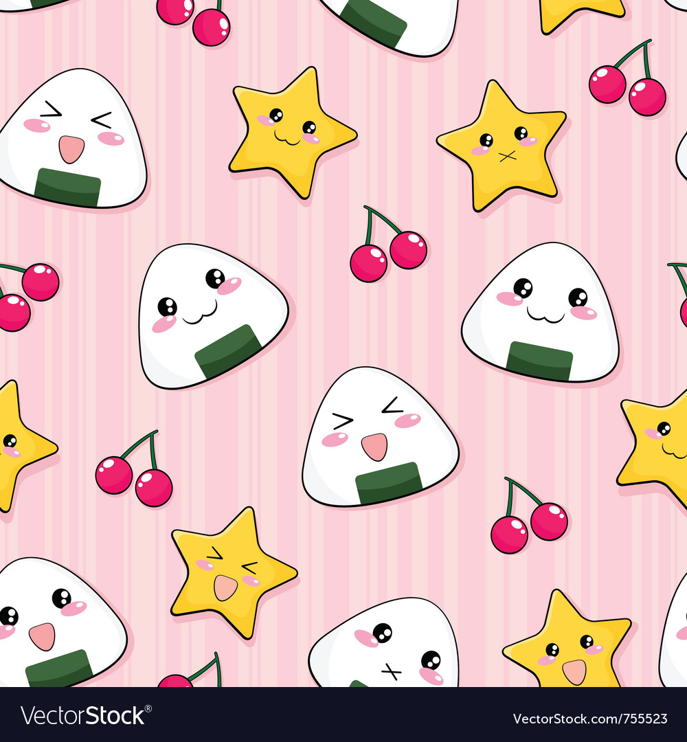 Seamless manga pattern vector | Price: 1 Credit (USD $1)
