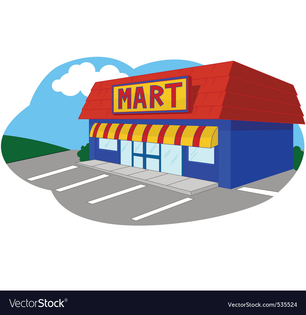 Convenient store vector | Price: 1 Credit (USD $1)