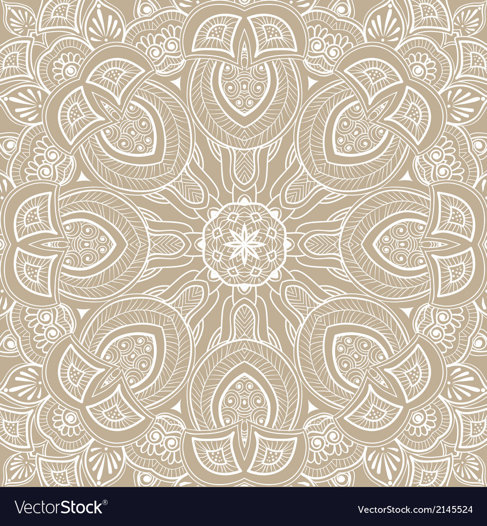 Ornamental round lace background vector | Price: 1 Credit (USD $1)