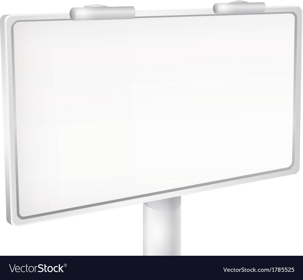 Billboard banner vector | Price: 1 Credit (USD $1)