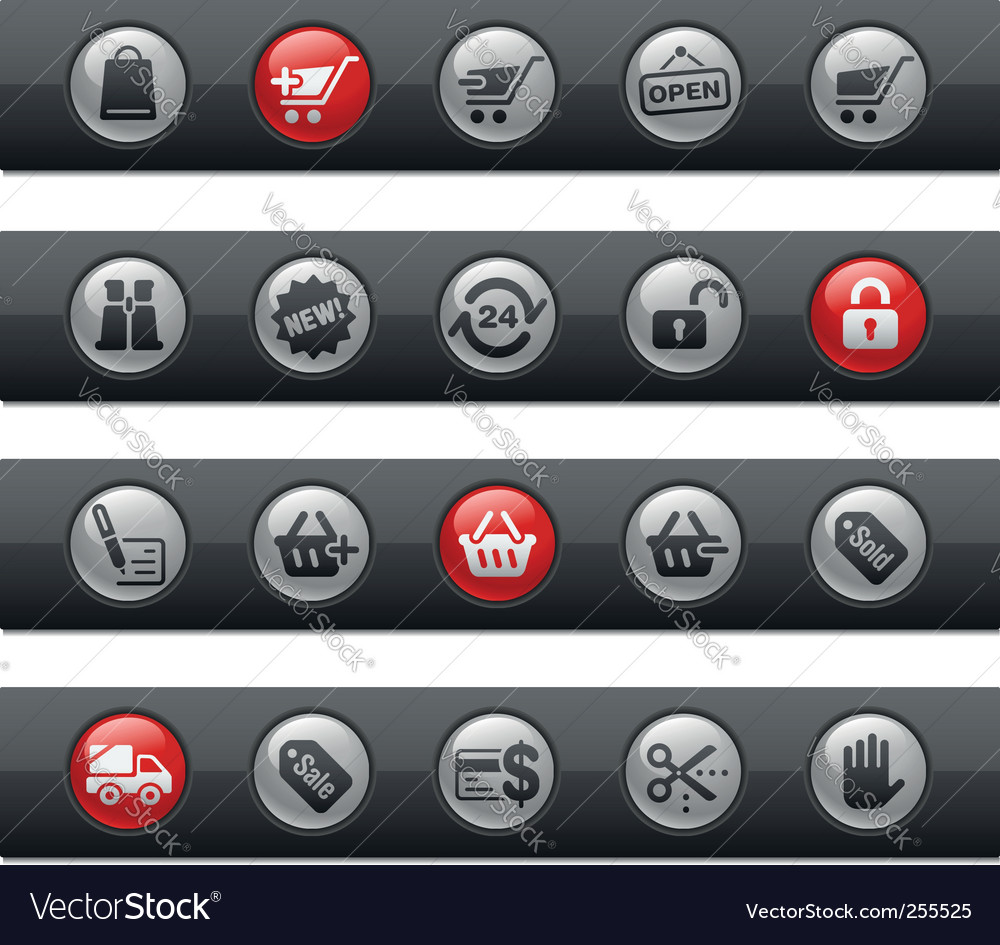 Shopping bars vector | Price: 1 Credit (USD $1)