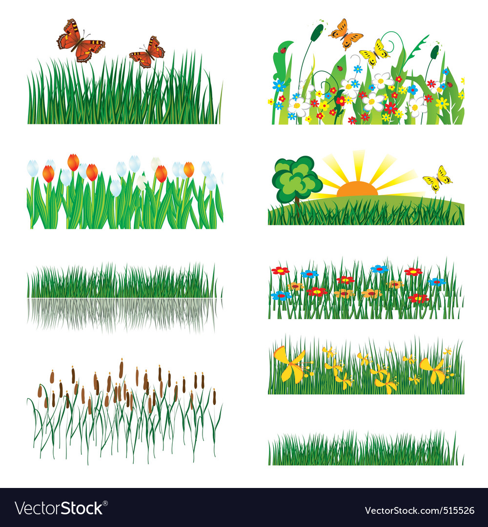 Elements of nature vector | Price: 1 Credit (USD $1)