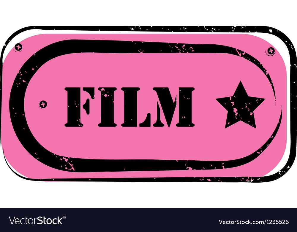 Film stamp vector | Price: 1 Credit (USD $1)