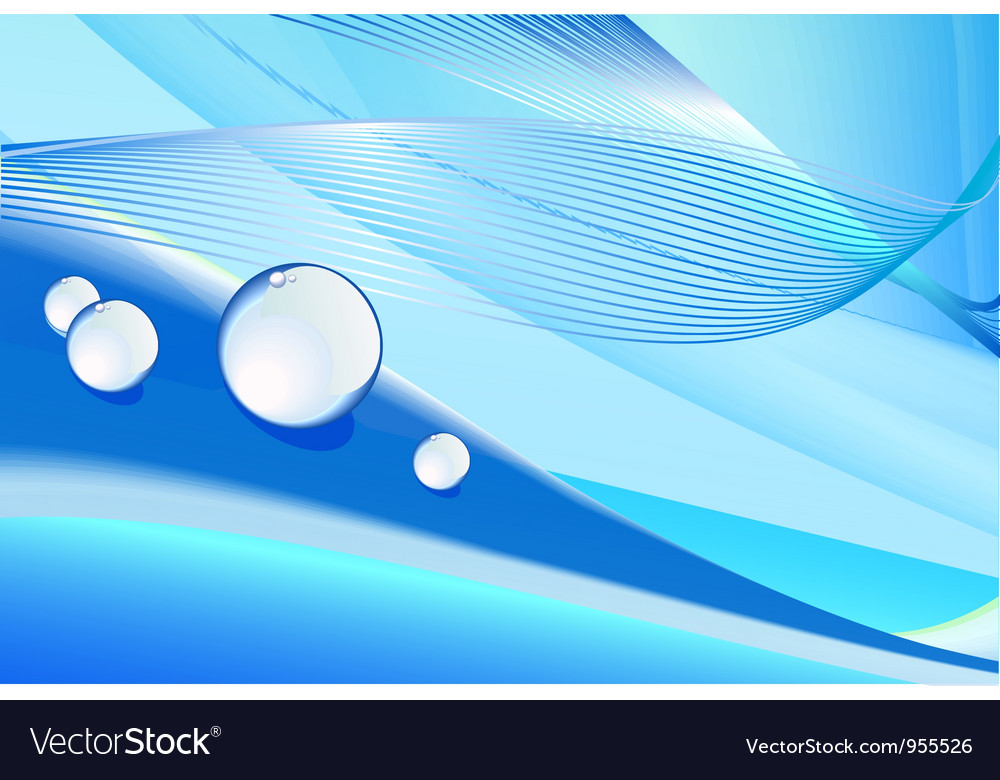 Fresh horizontal abstract background vector | Price: 1 Credit (USD $1)