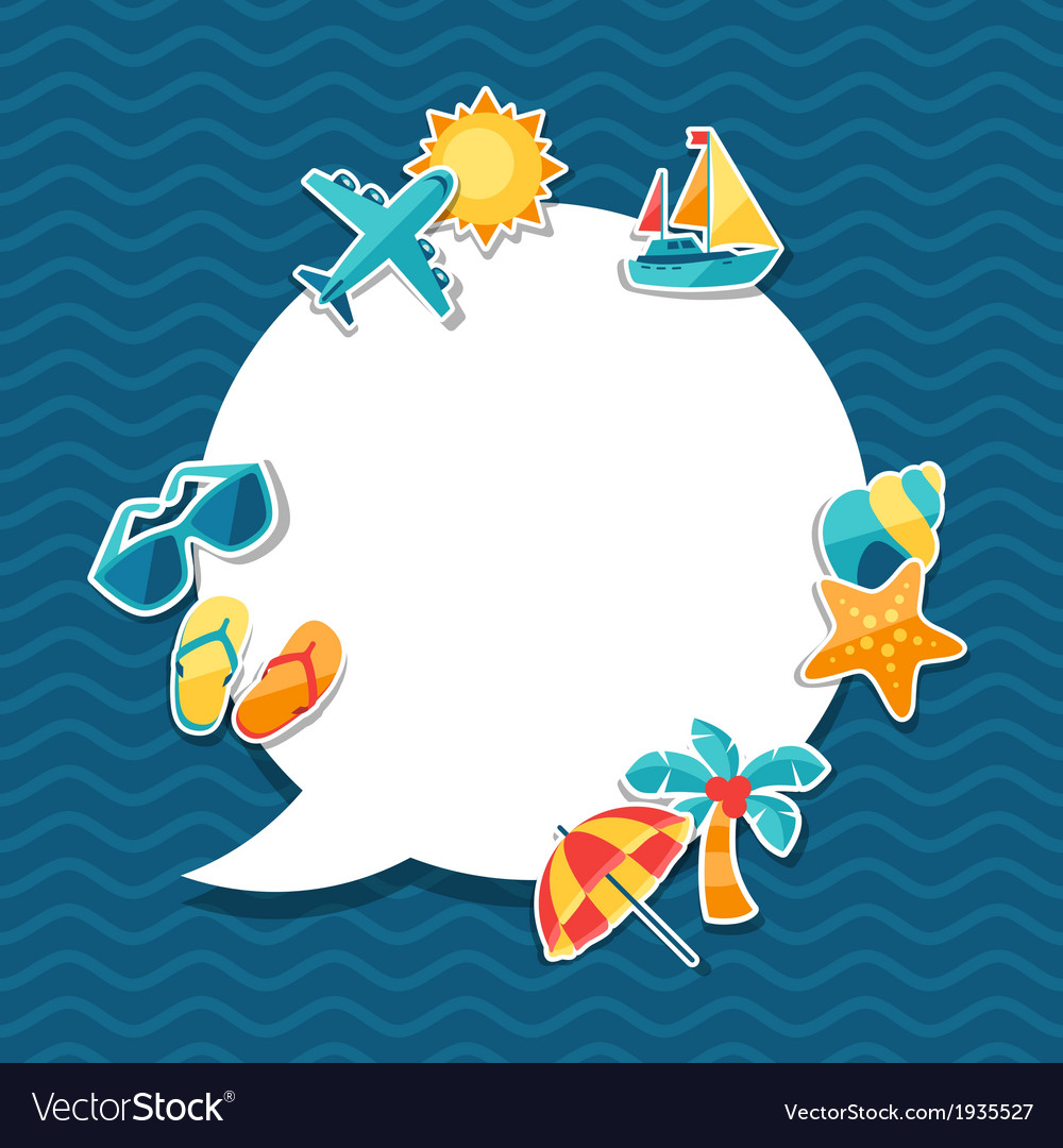 Travel and tourism background vector   Price: 1 Credit (USD $1)