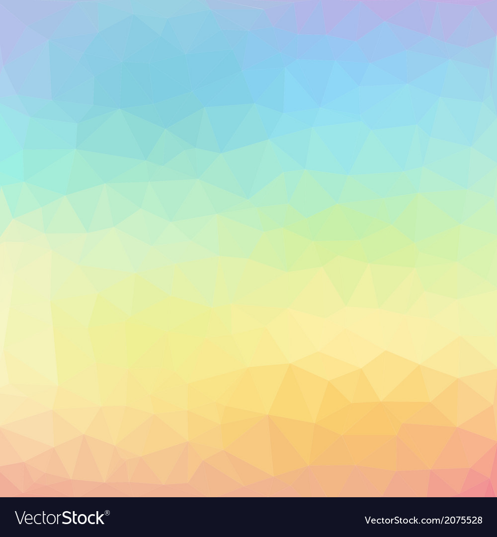 Geometric abstract colorful low poly background vector | Price: 1 Credit (USD $1)