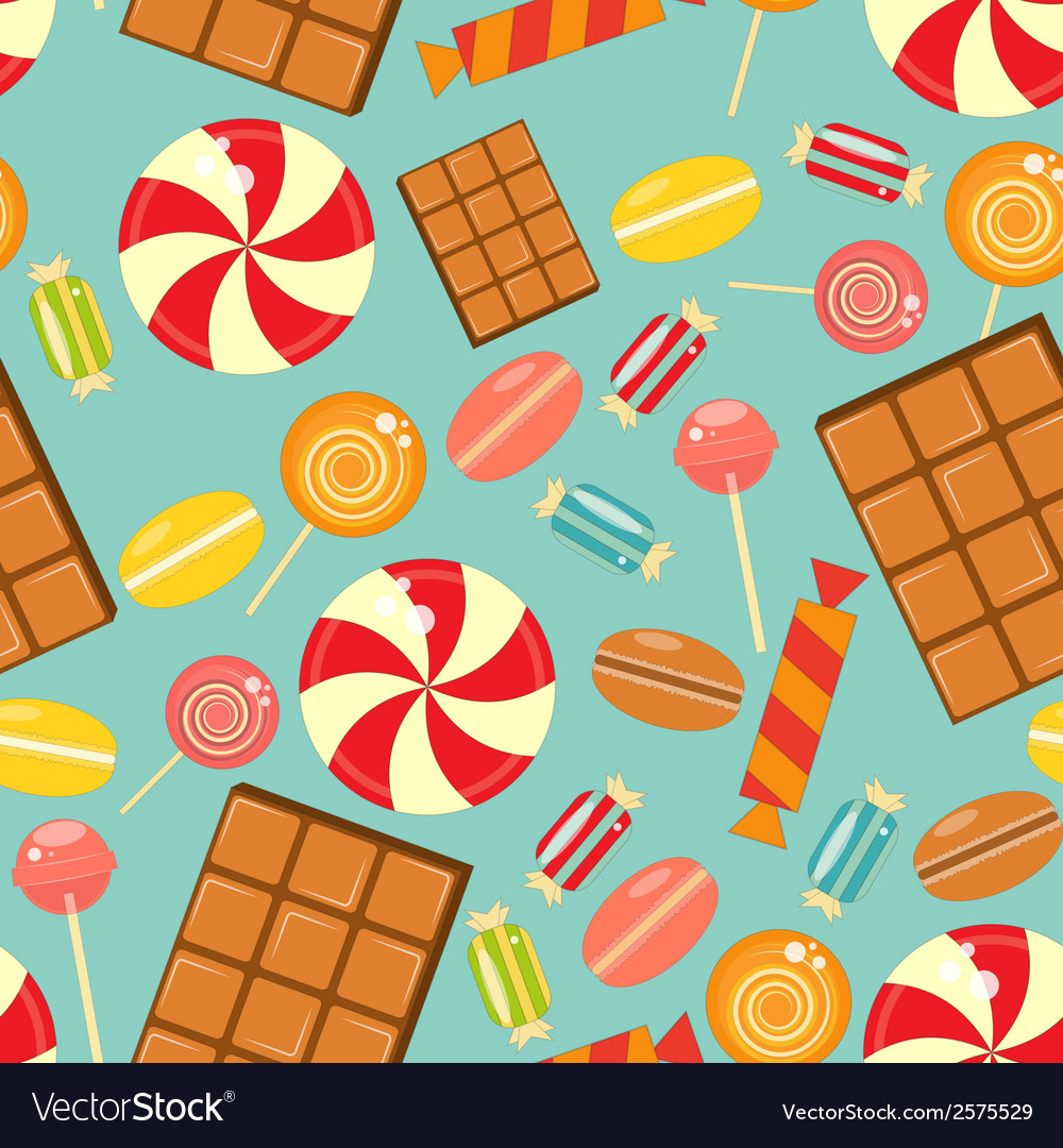 Sweet seamless vector | Price: 1 Credit (USD $1)