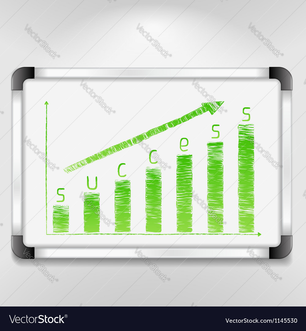 Graph of success vector | Price: 1 Credit (USD $1)