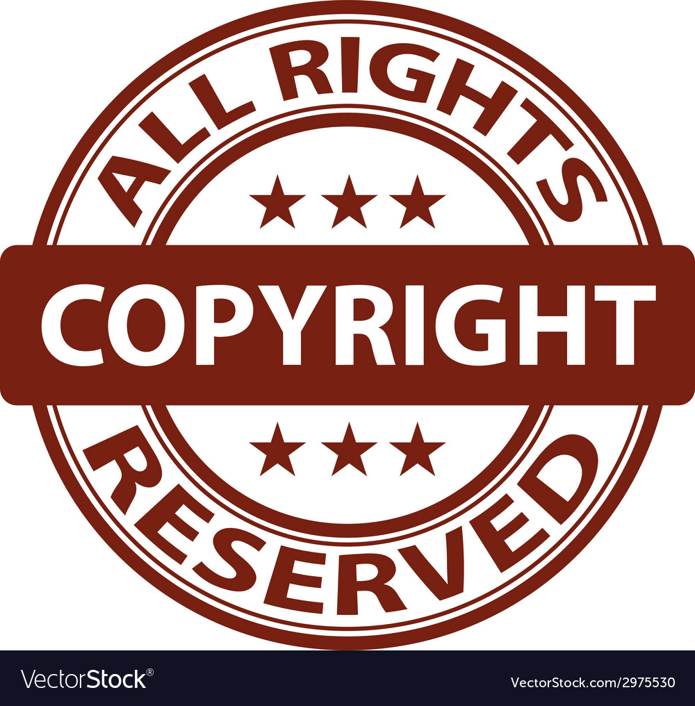 Pure copyright stamp vector | Price: 1 Credit (USD $1)
