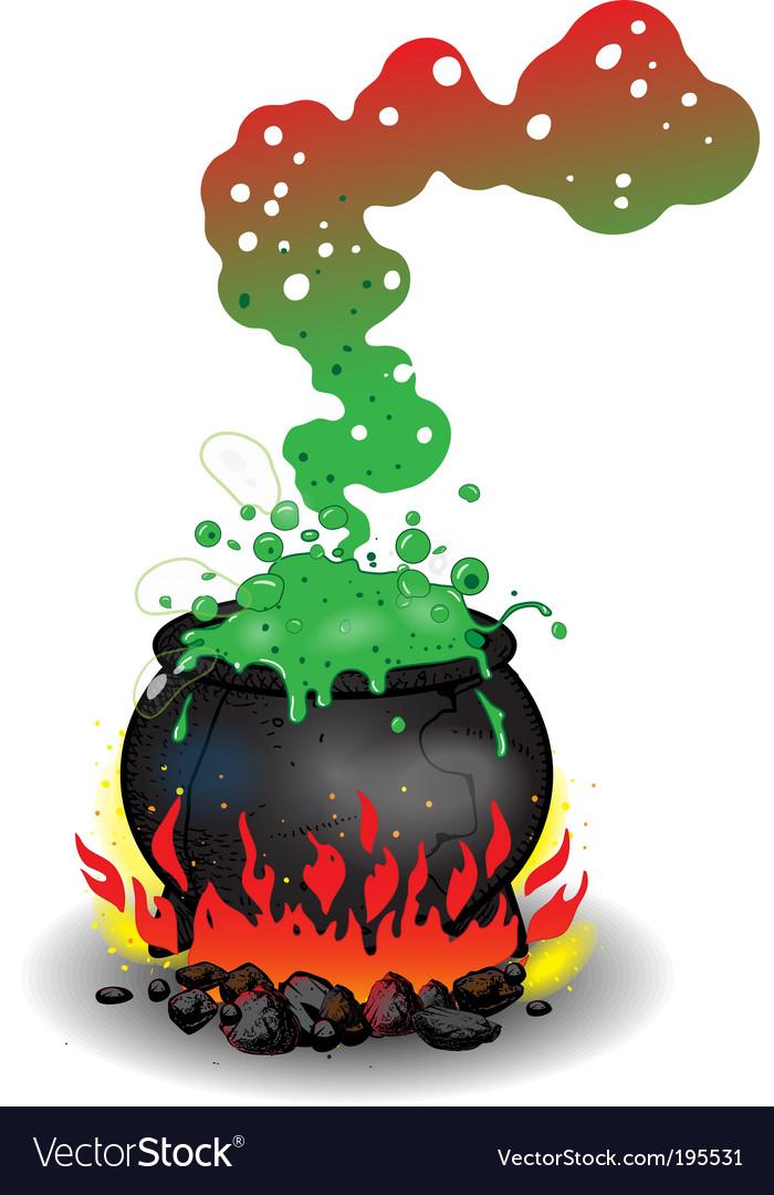 Cauldron vector | Price: 1 Credit (USD $1)