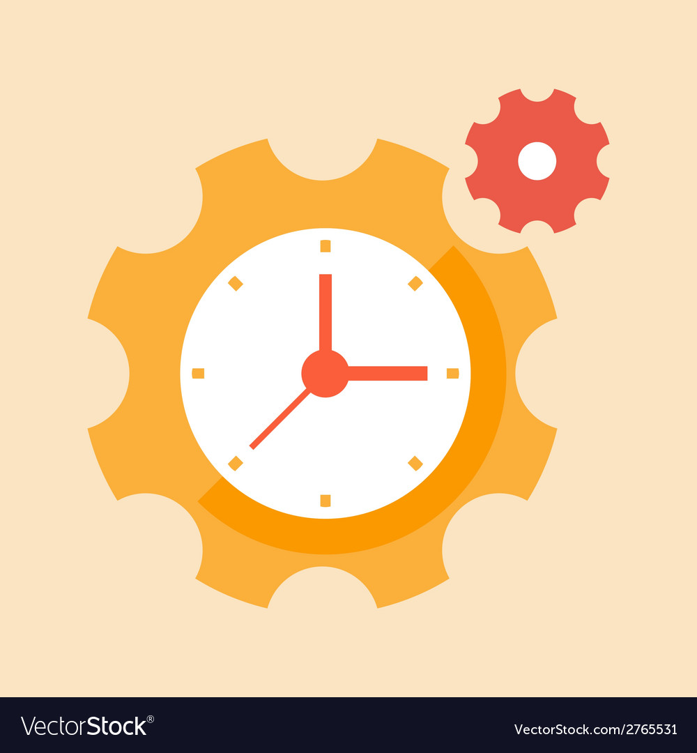 Precision time vector | Price: 1 Credit (USD $1)