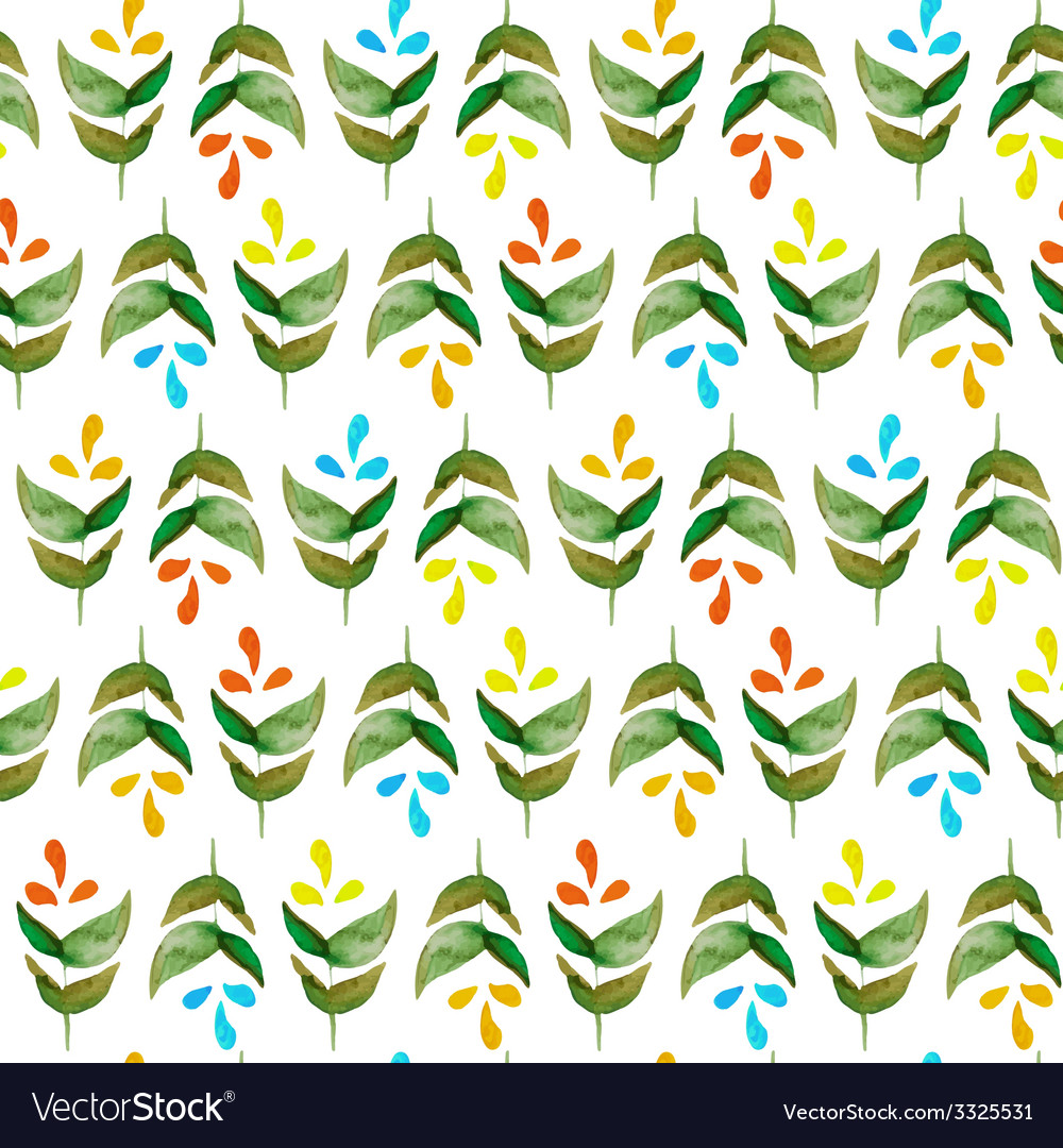 Watercolor pattern vector | Price: 1 Credit (USD $1)