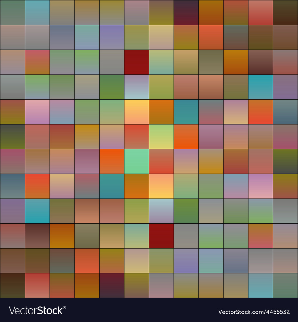 Colorful pixels 3 vector | Price: 1 Credit (USD $1)