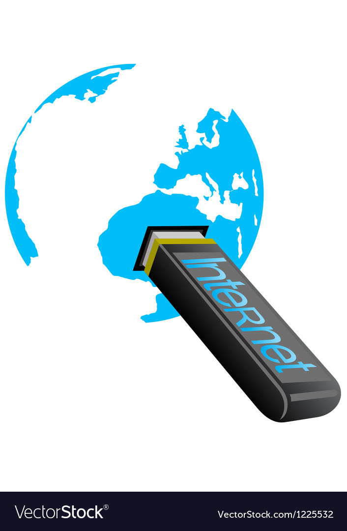 Flash internet vector | Price: 1 Credit (USD $1)