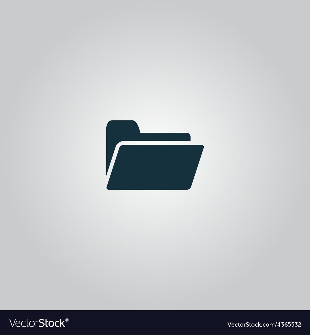 Folder icon vector | Price: 1 Credit (USD $1)