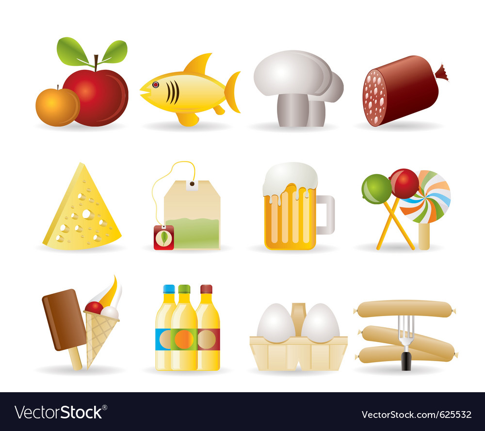 Food and drink icons vector | Price: 3 Credit (USD $3)