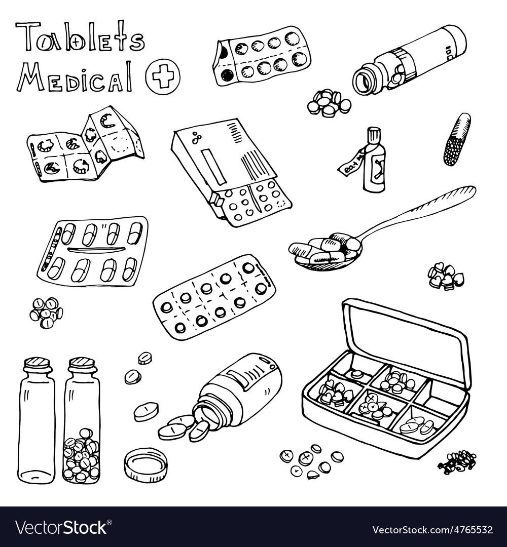Pills drugs syringe vector | Price: 1 Credit (USD $1)