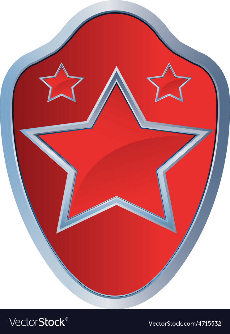 Red star amblem 2 resize vector | Price: 1 Credit (USD $1)