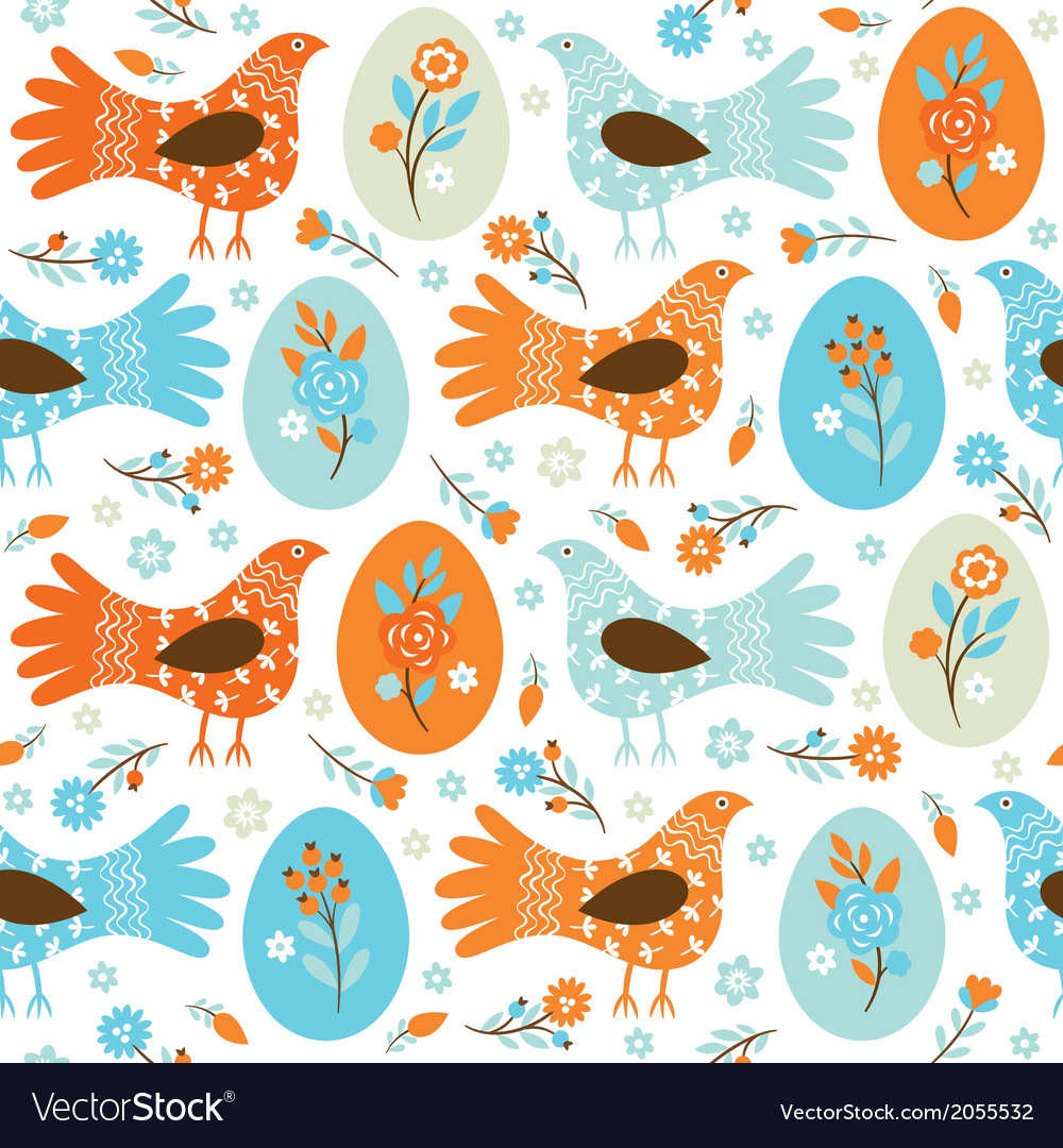 Seamles easter background vector | Price: 1 Credit (USD $1)