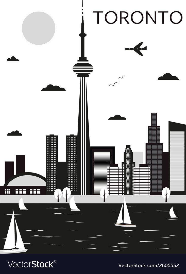 Toronto canada vector | Price: 1 Credit (USD $1)