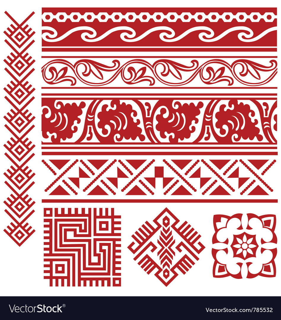 Tribal border vector | Price: 1 Credit (USD $1)