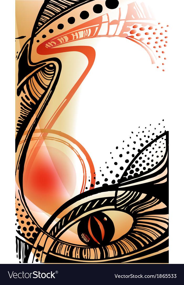 Decorative ethnic ornament vector | Price: 1 Credit (USD $1)