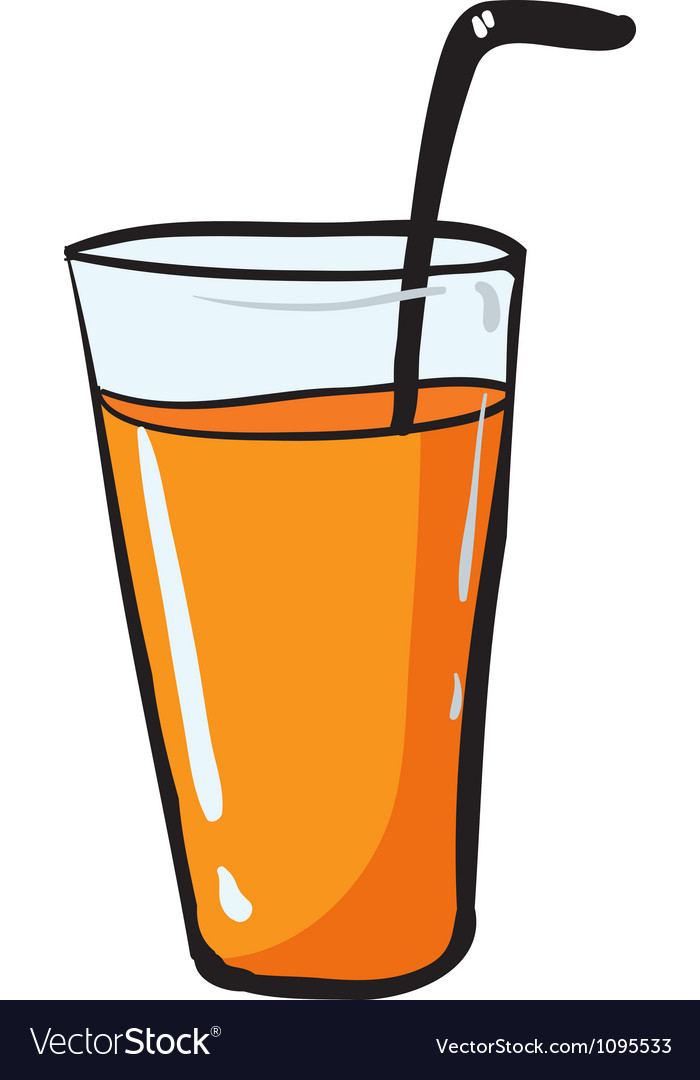 Glass and straw vector   Price: 1 Credit (USD $1)