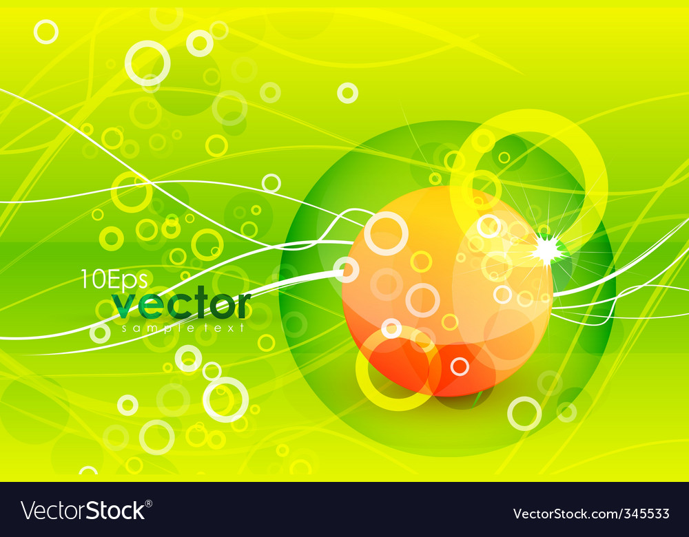 Summer abstract background vector   Price: 1 Credit (USD $1)