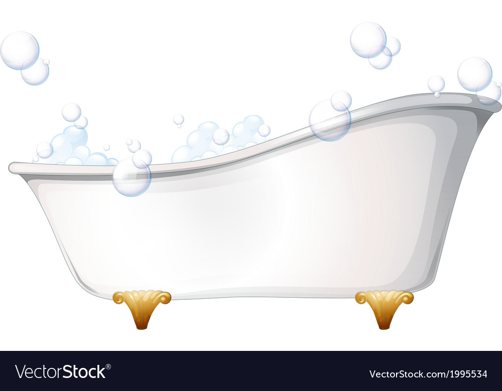 A bathtub vector | Price: 1 Credit (USD $1)