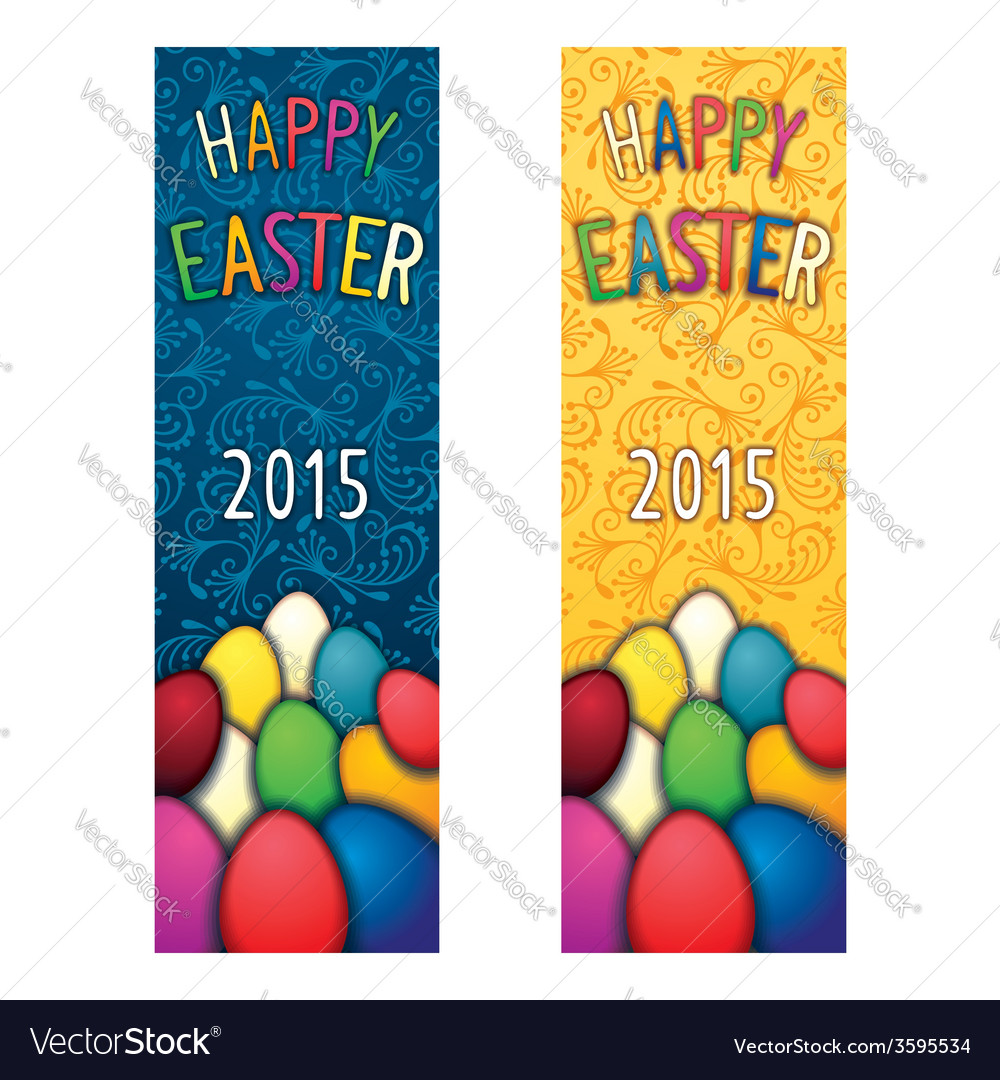 Easter holiday flyer vector | Price: 1 Credit (USD $1)