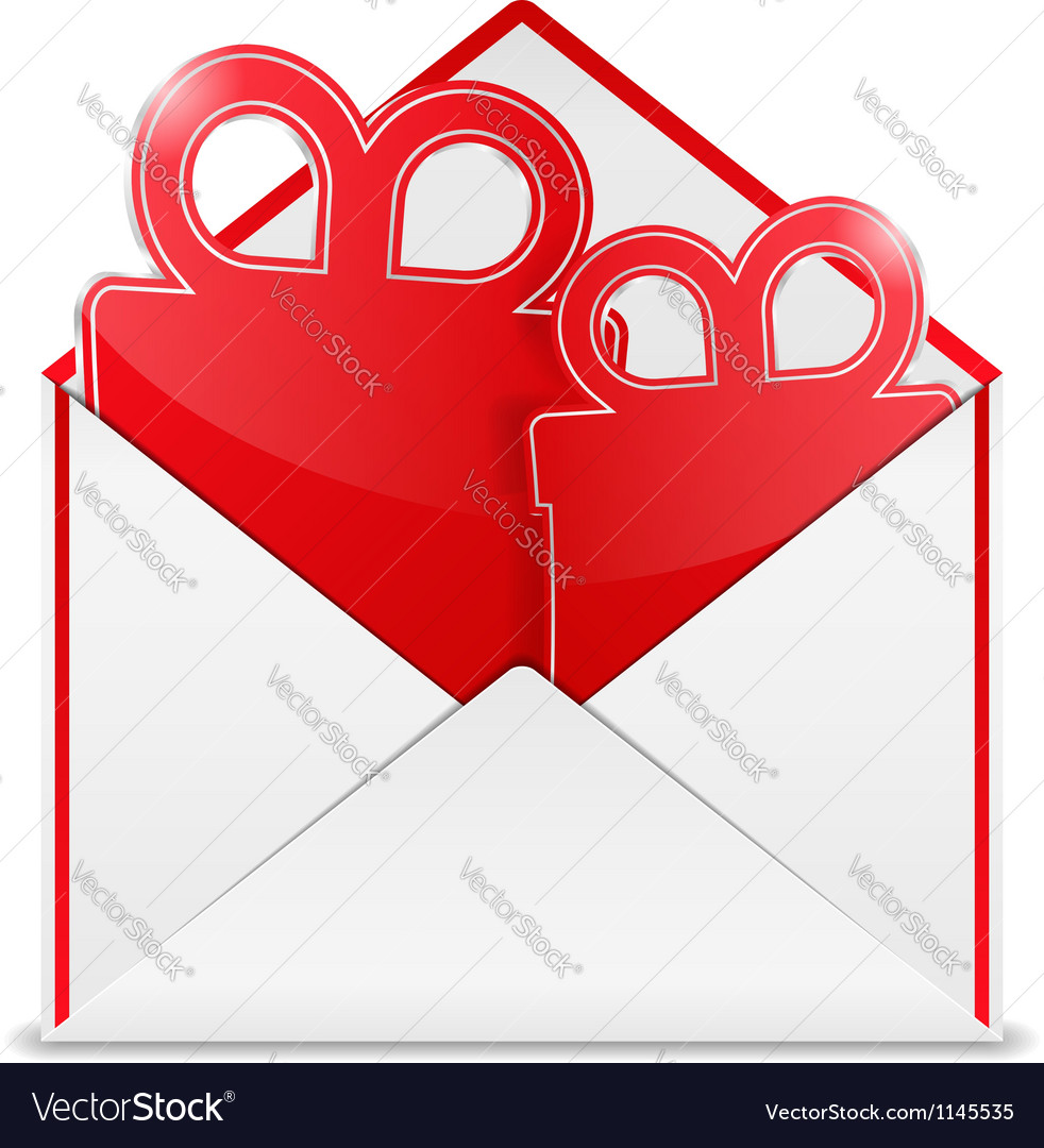 Envelope with gift vector | Price: 1 Credit (USD $1)