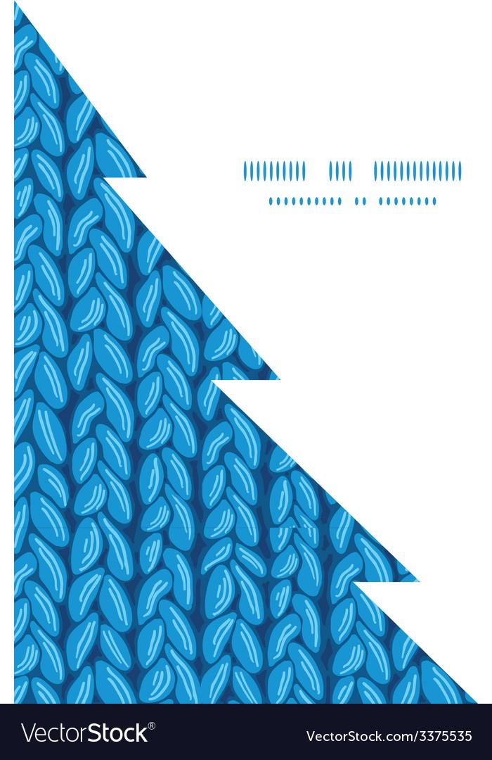Knit sewater fabric horizontal texture christmas vector | Price: 1 Credit (USD $1)