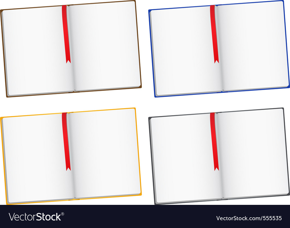 Opened books vector | Price: 1 Credit (USD $1)