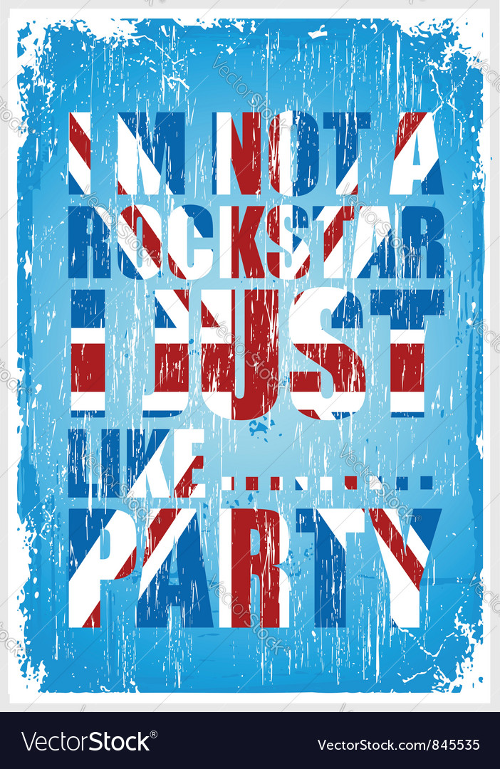 Party britain vector | Price: 1 Credit (USD $1)