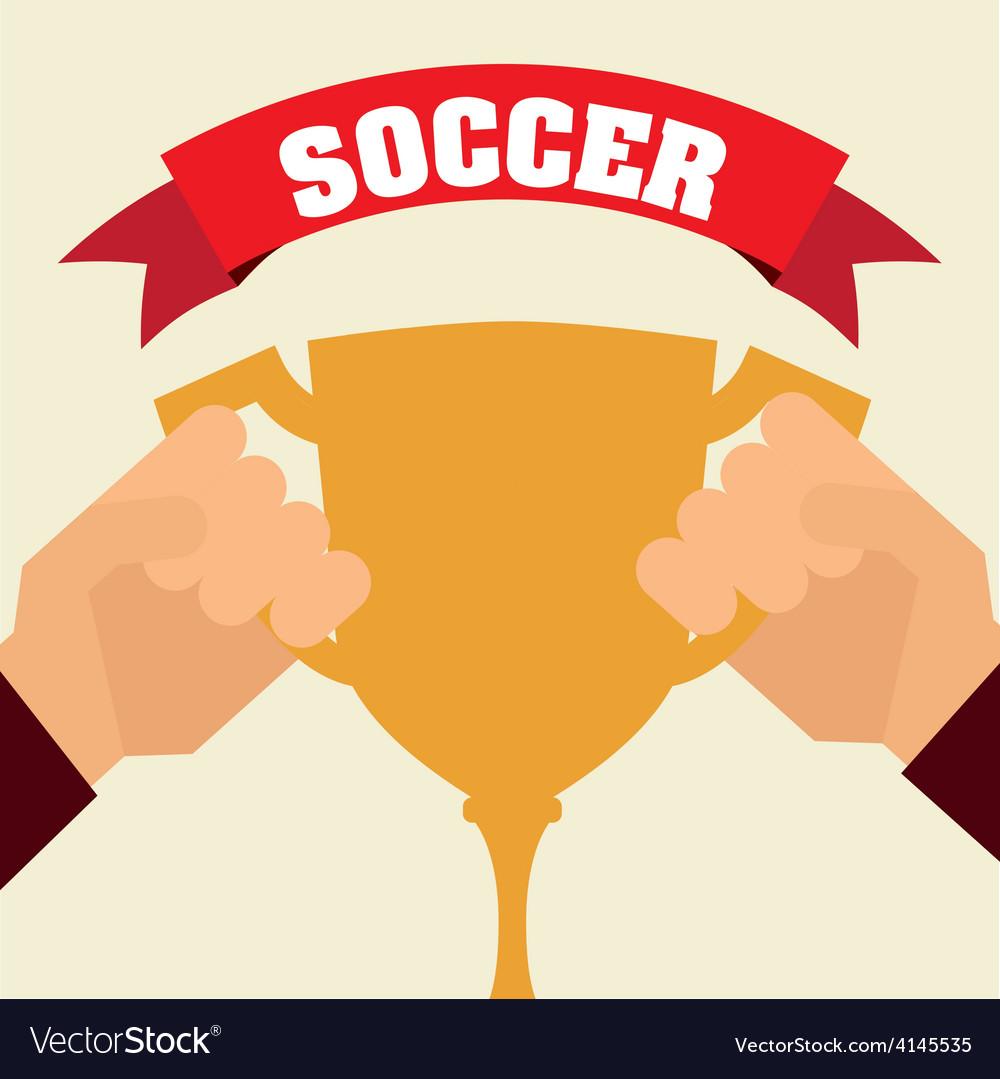 Soccer sport vector | Price: 1 Credit (USD $1)