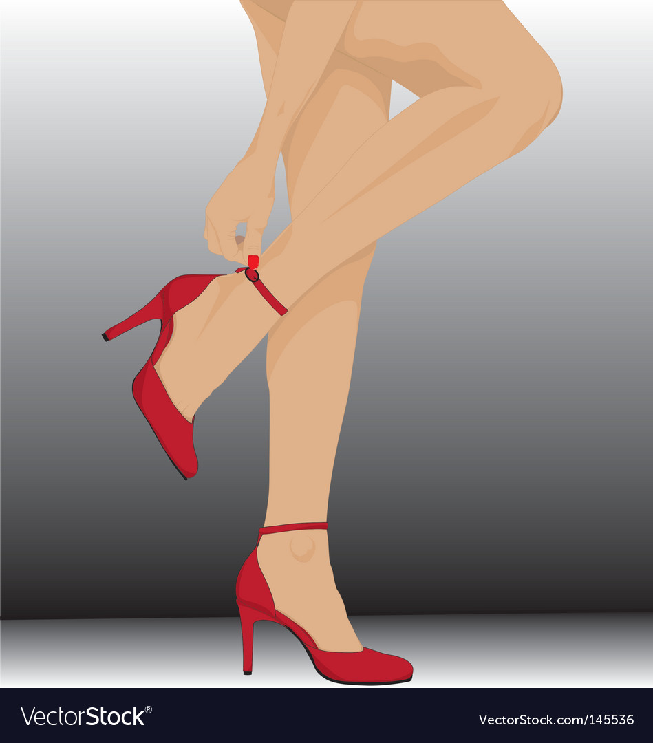 Aw legs vector | Price: 1 Credit (USD $1)