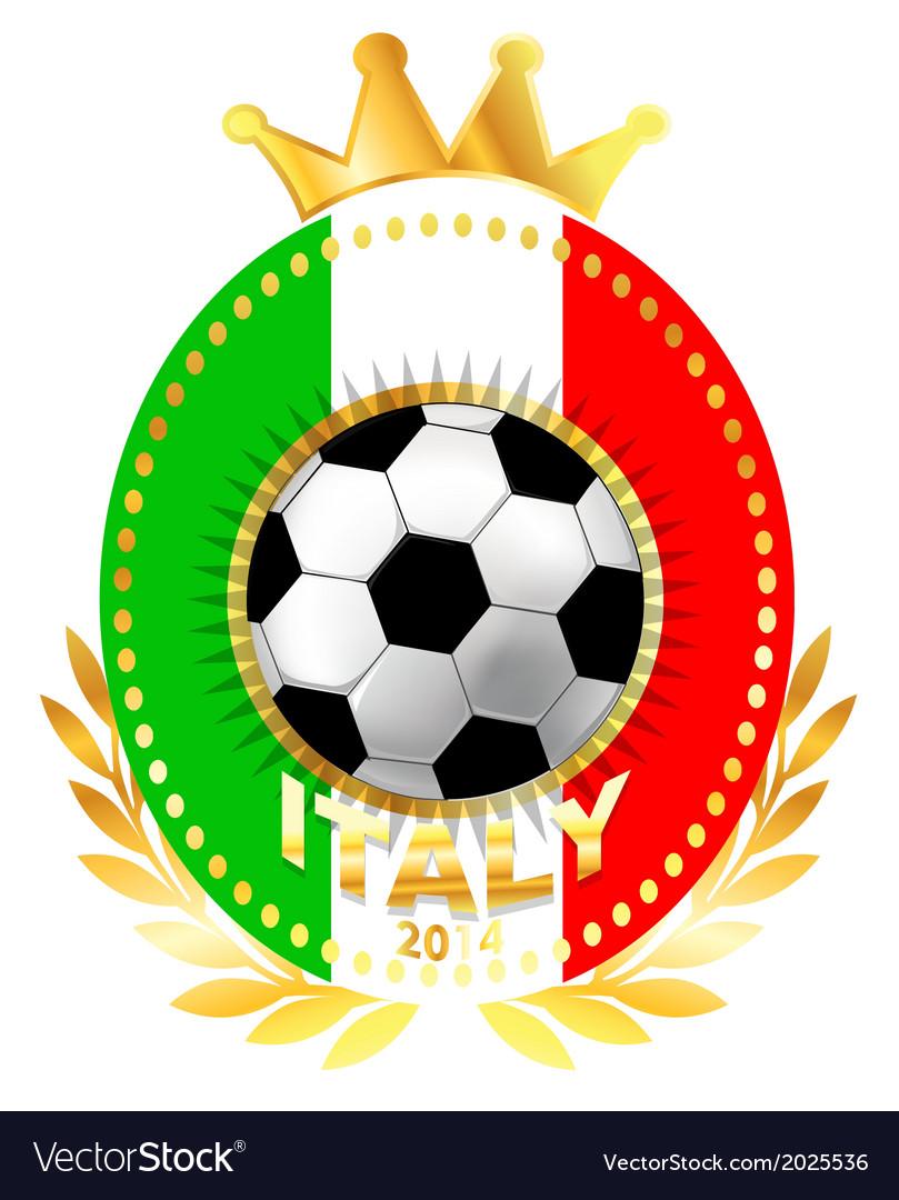 Football country logo vector