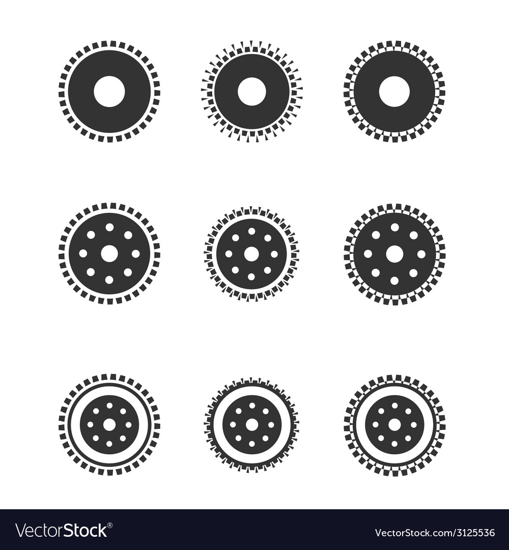 Gear wheels isolated on light background vector | Price: 1 Credit (USD $1)