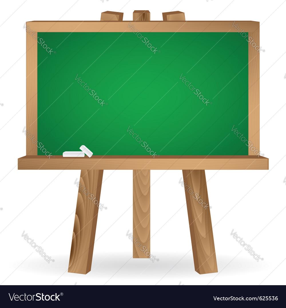 Green school board vector | Price: 1 Credit (USD $1)