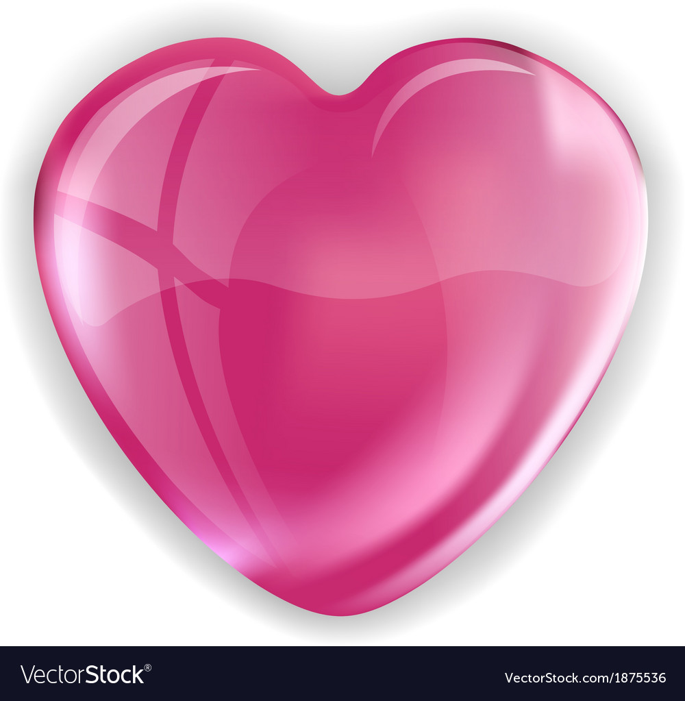 Heart pink vector | Price: 1 Credit (USD $1)